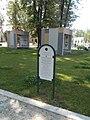 'Landschaftswürfel' Zeichen, Vaszary Park, 2021 Kaposvár.jpg