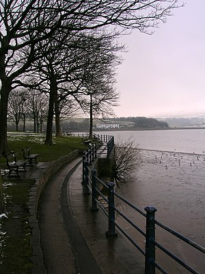 Hollingworth Lake - The Promenade at Hollingworth Lake