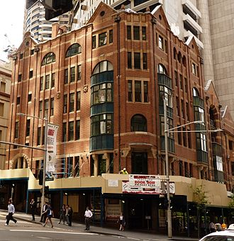 Grosvenor Street, Sydney - Johnson's Building, located on Grosvenor Street
