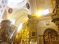 (Centro Historico de Quito) Interior of the Iglesia de la Merced 01a.JPG