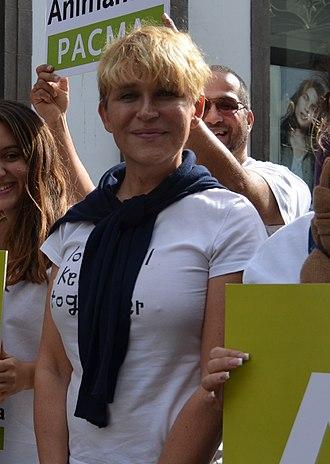 Antonia San Juan - Image: ¡Muévete por los animales! Las Palmas