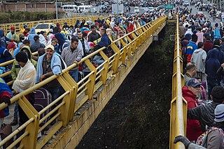 Venezuelan refugee crisis emigration of millions of Venezuelans during the Bolivarian Revolution