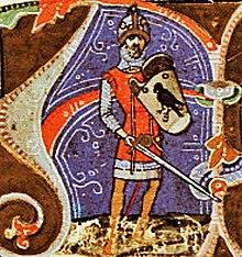 Ügyek's son or grandson Álmos, the first ruler of the Hungarians