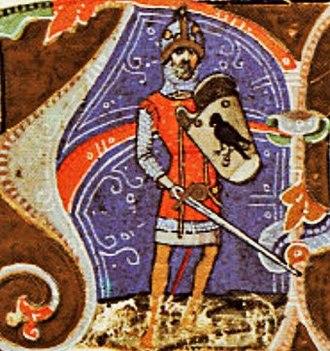 Ügyek - Ügyek's son or grandson Álmos, the first ruler of the Hungarians