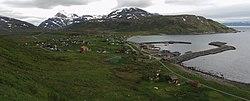 Årviksand, Skjervøy, Troms, Norway 2008-06-25 Panorama.jpg