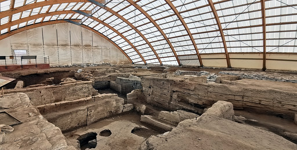 Çatalhöyük, 7400 BC, Konya, Turkey - UNESCO World Heritage Site, 07