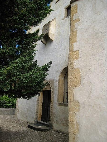 Fortified church Saint-Quentin, Scy-Chazelles, France
