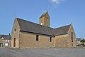 Église Notre-Dame-de-l'Assomption de Coulouvray-Boisbenâtre. Vue sud-ouest.jpg
