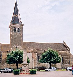 The church in Saint-Jean-sur-Veyle