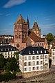 Église Saint-Thomas et cathédrale Notre-Dame Strasbourg août 2015.jpg