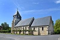 Église de l'Assomption de Notre-Dame de Bonneville-la-Louvet. Vue sud-est.jpg