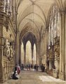 Émile-Antoine-François Herson - Interior of a Gothic Church - Walters 371396.jpg