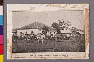 État de Minas Geraes - Caravane de Transports