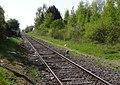État de la section de Saint-Saulve à Blanc-Misseron de la ligne de Douai à Blanc-Misseron au 16 avril 2014 (103, gare d'Onnaing).JPG