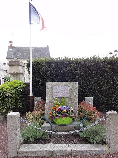 Étouvelles (Aisne) monument aux morts