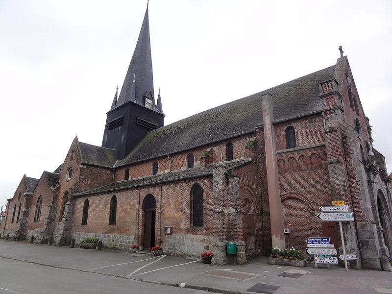 Étréaupont (Aisne) Église Saint-Martin, latéral
