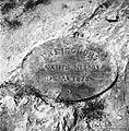 Železna plošča, napisna tabla, pri Šupčevih. Gornji Križ 1957.jpg