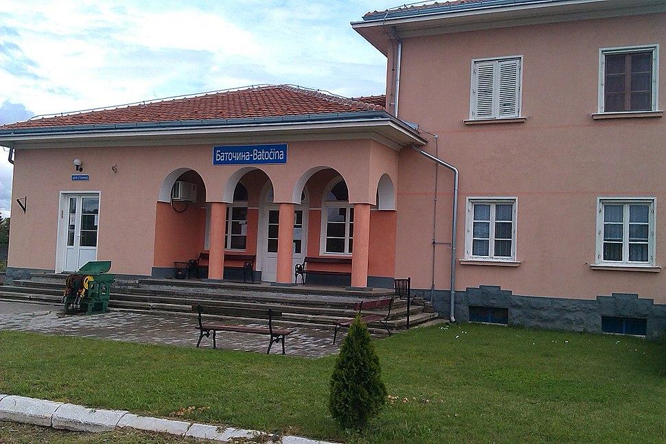Železnička stanica Batočina