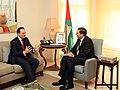 Περιοδεία ΥΠΕΞ, κ. Δ. Δρούτσα, στη Μέση Ανατολή - Αμμάν 17.10.2010 Συνάντηση με Πρωθυπουργό Ιορδανίας κ. Samir Rifai (5092110383).jpg