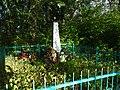 Братская могила советских воинов, павших в боях с фашистскими захватчиками в 1943 п.Октябрьский Вяземский район.jpg