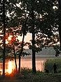 Жуків хутір, схід сонця над озером 01.jpg