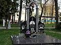 Знак на честь ліквідаторів аварії на ЧАЕС у м. Мена.jpg