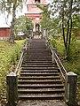 Лестница; Воскресенский скит, Валаамский монастырь.jpg