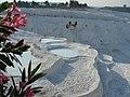 Олеандр и травертины Памуккале. Турция. Июль 2012 - panoramio.jpg