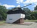 Памятник воинам освободителям танк ИС 2 сбоку.jpg
