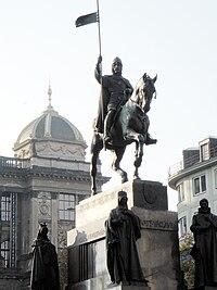 Прага.Памятник Вацлаву.jpg