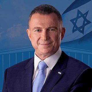 Yuli Edelstein Israeli politician and Speaker of the Knesset