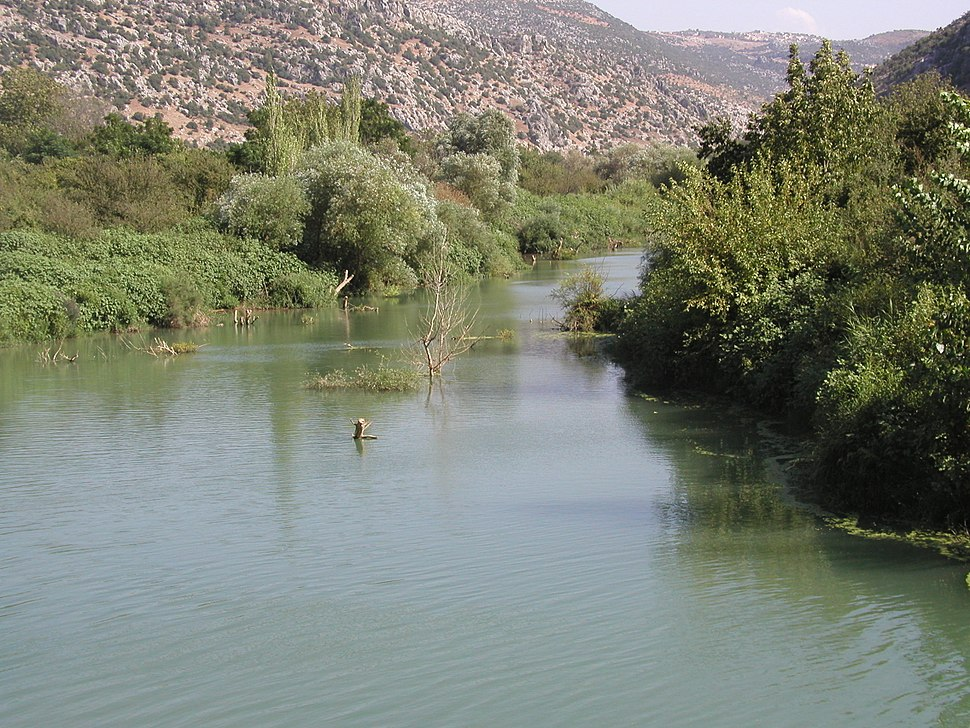 نهر العاصي قرب دركوش
