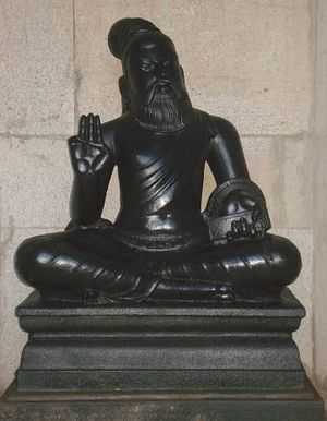 Thiruvalluvar - A statue of Thiruvalluvar