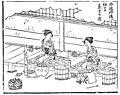 三丹流製糸の図(『養蚕秘録』より)三丹とは、丹後・丹波・但馬地域を示す。.jpg