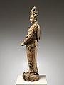 元至正十九年 彩繪木雕觀音菩薩像(柳木胎)-Bodhisattva Avalokiteshvara (Guanyin) MET DP223481.jpg