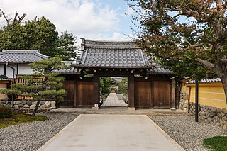 Buddhist temple located in Gifu, Gifu Prefecture, Japan