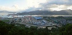 施工中的马尾造船厂新址 - The New Mawei Shipbuilding Plant under Construction - 2015.08 - panoramio.jpg