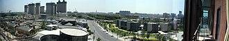 Panjin - Image: 盘锦市东部天际线(拍摄于广厦新城写字楼C 座)