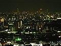緑井毘沙門天夜景 - panoramio - full moon69.jpg