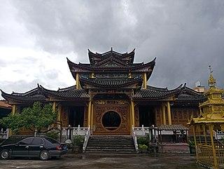 Kyaung Buddhist monastery