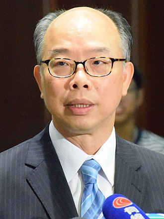 Secretary for Transport and Housing - Image: 香港運輸及房屋局局長陳帆