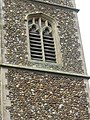 -2019-01-25 Abat-son in the church tower of Saints Peter and Paul, Edgefield, Norfolk.JPG