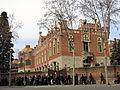001 Hospital de Sant Pau, pavelló de Sant Salvador, des del c. Sant Antoni M. Claret.JPG