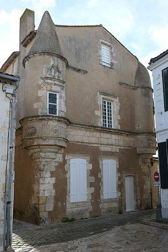 Ars-en-Ré - Image: 002 Demeure de Sénéchal Ars en Ré