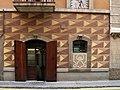 012 Can Solé (Barcelona), detall de la façana del c. Mar 51-53.jpg
