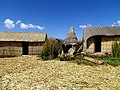 032 Reed Houses Uros Islands of Reeds Lake Titicaca Peru 3085 (15181582482).jpg