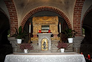 San Pietro in Ciel d'Oro - Tomb of Boethius in San Pietro in Ciel d'Oro.