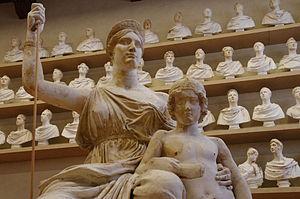 Lorenzo Bartolini - Monument to Elisa Bonaparte Baciocchi, The Magnanimity of Elisa, Grand Duchess of Tuscany-Galleria dell'Accademia (Florence)