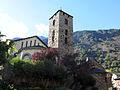 041 Sant Esteve (Andorra la Vella), capçalera i campanar.JPG