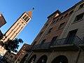 044 Campanar de Sant Jaume i Ajuntament de Mollerussa.JPG